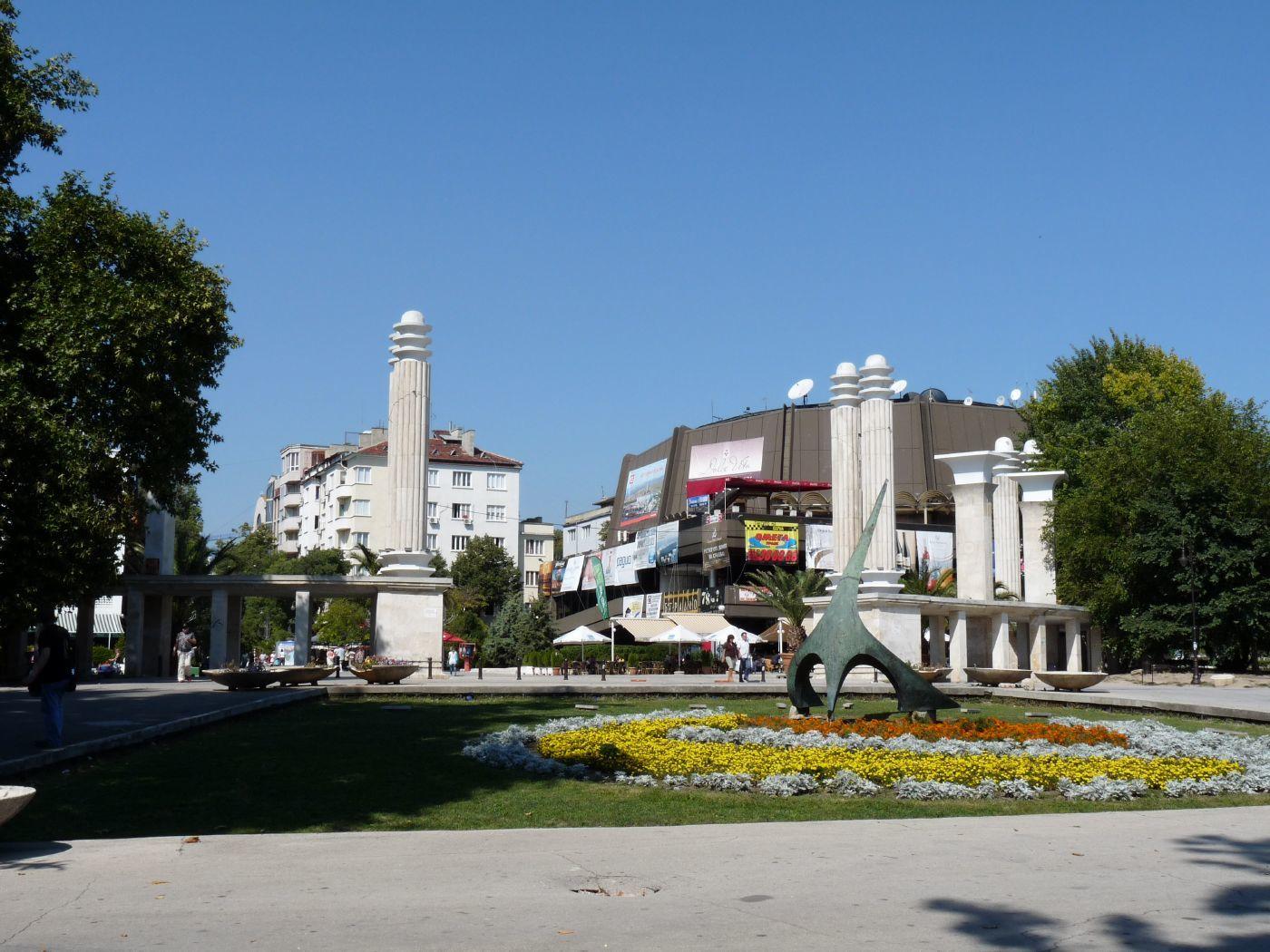 sun dial Varna